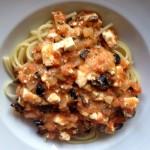 Spaghetti_mit_Schafkaese_und_Oliven